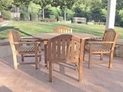 Laguna Oval Teak Table Set