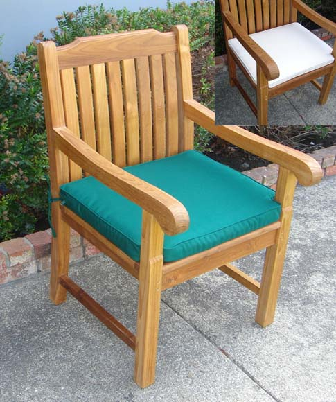 Cushion For Teak Dining Arm Chair