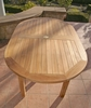 Teak Oval Table 5ft
