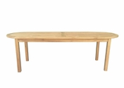Teak Oval Table 8F