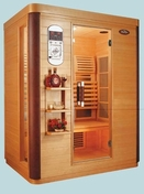 Three Person Deluxe Infrared Sauna