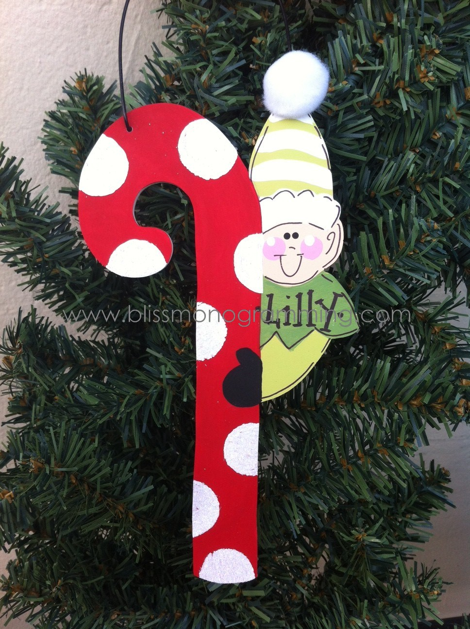 Large candy cane ornaments - Large Candy Cane Ornaments 3