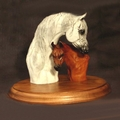 Arabian Mare and Foal Trophy - Log in for quantity pricing of 2 or more