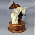 Arabian Stallion and Mare Trophy - Log in for quantity pricing of 2 or more