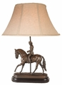 Dressage Lady Lamp
