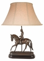 Dressage Man Lamp