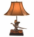 Flying Pheasant Lamp