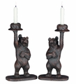 Honey Pot Bear Candleholders