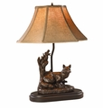 Male Fox Lamp