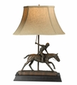 Polo Player Lamp