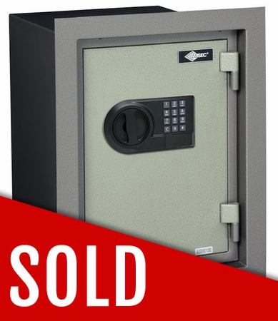 American Security WFS149E5 Wall Safe With Slight Frame Damage