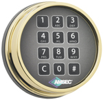 AMSEC ESL10 Electronic Lock Instructions