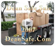 Dean Safe Company's 2007 Gunsafe sale
