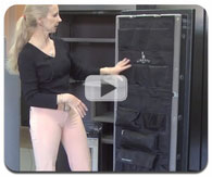 Gun Safe Door Panel kit by Liberty Video