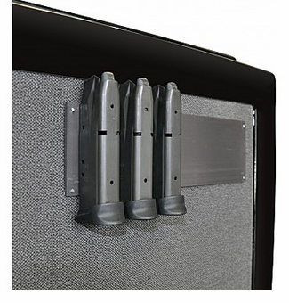 Gun Storage Solutions<br>Magnetic Magazine Clip Mount