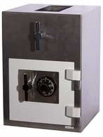 Hollon B Rated Top Rotary<br>Hopper Drop Safe with UL<br>Group II Dial Lock RH-2014C