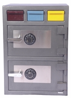 Hollon B Rated Triple Drop Safe<br>With Double Group II Dial Lock<br>3D-2820MM-DD