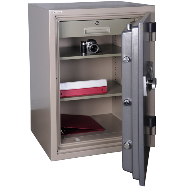 Hollon HS-880E 2 Hour Fireproof Office Safe - View All Office Safes