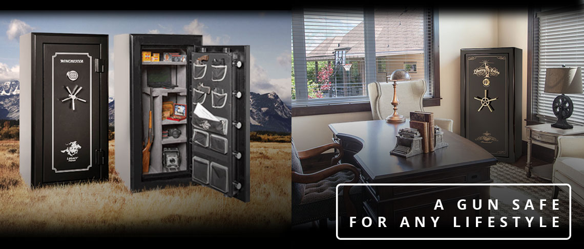 A Variety of Classy and Heavy Duty Gun Safes