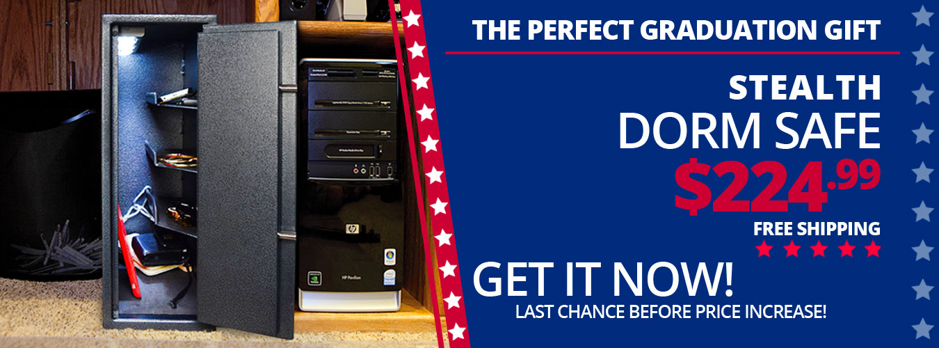Stealth Dorm Safe - Last chance before price increase!