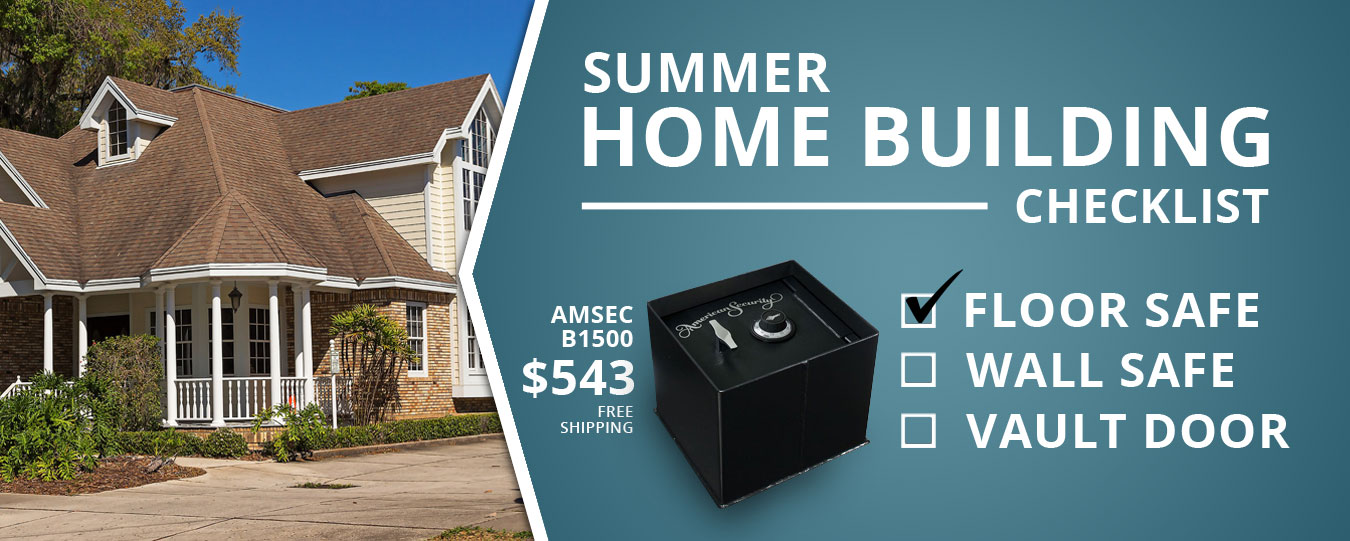 Floor Safes   Include in  your construction this Summer   AMSEC B1500E5