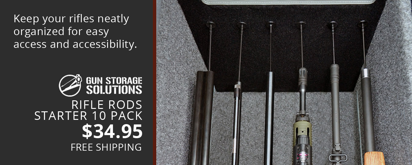 GSS Rifle Rods Keep your rifles organized!