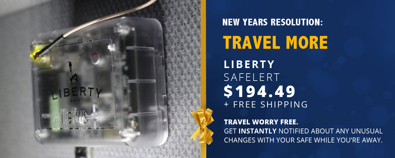 Liberty SafElert | Keep your safe monitored while you're on vacation