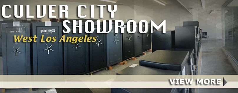 Our Newest Safe Showroom in Culver City -- West LA