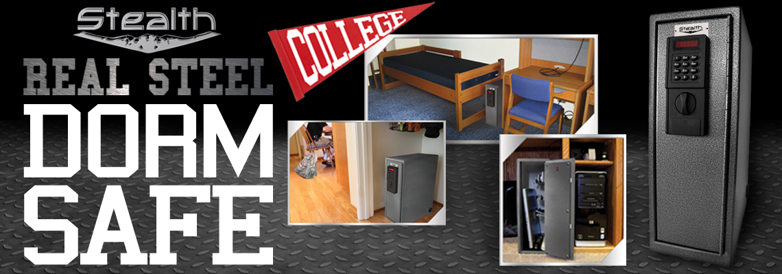 NEW STEALTH REAL STEEL COLLEGE DORM SAFE!