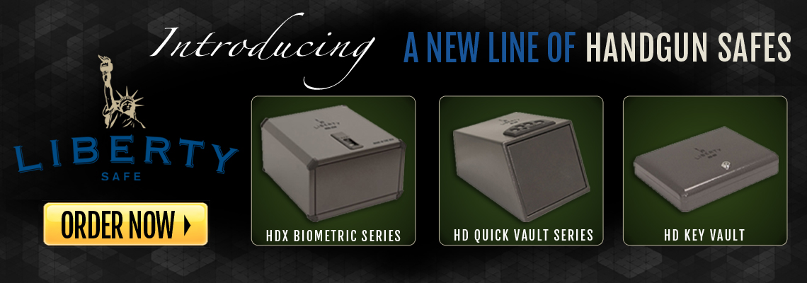New for 2015- Liberty Handgun Safes