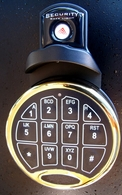 Keypad Dial Light for Electronic Pushbutton Safe Locks