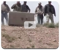 Liberty Gun Safe Rolled Down a Hill Video