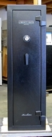 Liberty Revolution 12 Gun Safe Used as a Move Prop