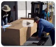 Loading a Gun Safe on a Trailer