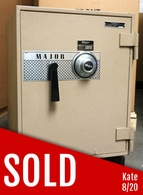 Major U.L. Listed fire safe model 1718  Home or Office Used