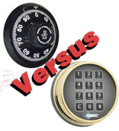 Mechanical Combination Lock versus Electronic Safe Lock
