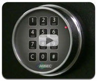 Opening an Amsec ESL-10 XL Electronic Digital Safe Lock