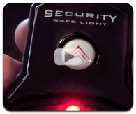 Security Safe Light for Combination or Electronic Locks Video