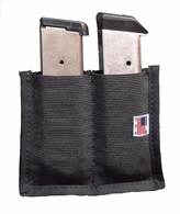 Stealth Velcro Double Clip Magazine Holder