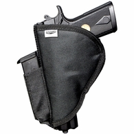 Stealth XL Velcro Pistol Holster with Side Clip Attachment