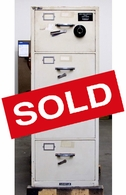 Used 4 drawer Diebold GSA Fire File cabinet