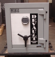 Used DeVault TL-15 U.L. Rated Jewelry Safe with a 2hr fire rating
