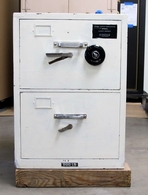 Used Diebold GSA Fire File cabinet