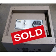 Used Eclipse Double door  Drop safe, Depository safe in cladding