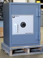 Used Fire and Burglary resistive composites safe by Inkas ST-2717,,,, 1 of 2