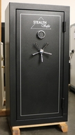 Used gun safe by Stealth Tactical gun safes model G-22E
