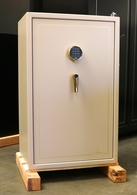 Used Liberty Home Safe model 12 W/ burglary and 1hr. fire