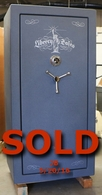 Used Liberty Lincoln 25 Gun Safe W/75 Min fire test.