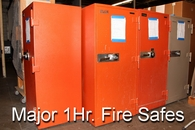 Used Major 1hr Fire Safes