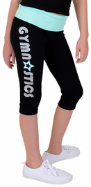 Girl's Gymnastics Capri Leggings
